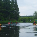 Canoeing on Barrow River 3